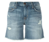 Jeans-Shorts im Used-Look