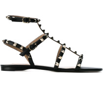 'Rockstud' Sandalen mit Knöchelriemen