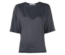 - Drapiertes T-Shirt - women