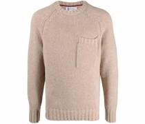 Pullover aus Yak-Alpakawollgemisch