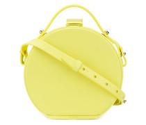 Runde Box-Handtasche