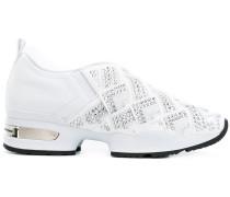 Slip-On-Sneakers mit Schmucksteinen