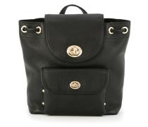 patch pocket backpack - women - Leder