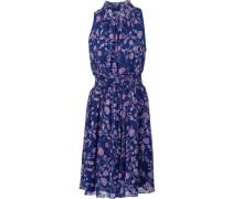 Ausgestelltes Kleid mit Blumen-Print