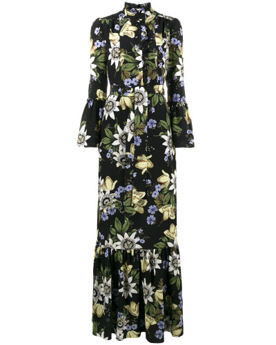 Stephanie floral print ruffle dress