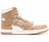Skeleton High-Top-Sneakers