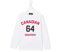 "Sweatshirt mit ""Canadian 63""-Print"