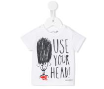 "T-Shirt mit ""Use Your Head""-Print - kids"