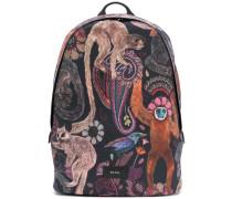 Rucksack mit Affen-Print