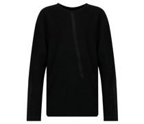 Pullover mit Besatzstreifen