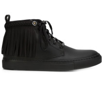High-Top-Sneakers mit Fransen