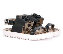 - Sandalen mit Logo-Schild - kids