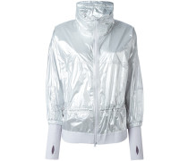 zipped wind breaker