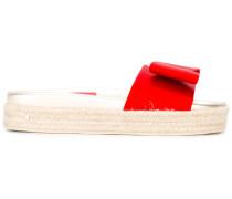'Nolga' Sandalen - women - Seide/Leder/rubber