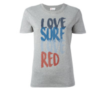 'Love Surf' T-Shirt - women - Baumwolle - XS