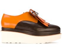 Derby-Schuhe mit Fransen