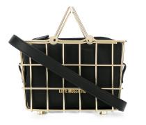 Handtasche im Korb-Design