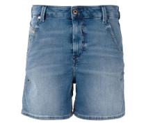 Jeans-Shorts mit Logo-Detail - women
