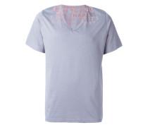 T-Shirt mit verfilztem Wort-Print - men