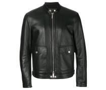 cropped zip-up jacket