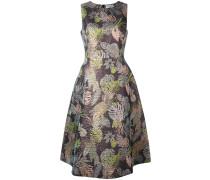 Ärmelloses Jacquard-Kleid