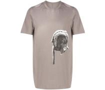 T-Shirt mit Skulptur-Print