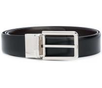 contrast buckle belt