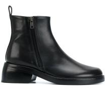 Stiefel mit doppeltem Reißverschluss