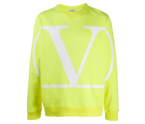 Sweatshirt mit VLOGO-Print