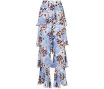 'Elyria' Hose mit Blumen-Print