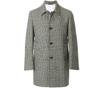 dogtooth single breasted coat