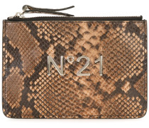 Mini Clutch mit Logo-Applikation - women