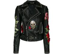 Carole Guado biker jacket