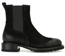Chelsea-Boots in Distressed-Optik