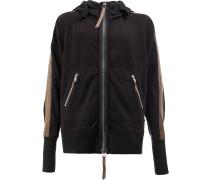 long sleeved hooded jacket