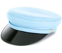 contrast baker boy hat