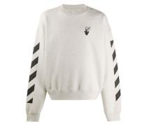 Sweatshirt mit Pfeile-Print