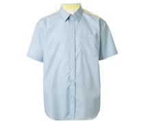 Popeline-Hemd mit Brusttasche