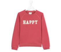 "Sweatshirt mit ""Happy""-Print"