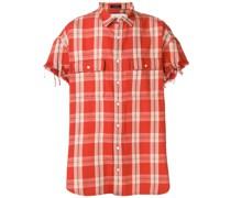 Hemd mit ausgefransten Ärmeln