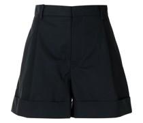 Kurze Shorts mit Bundfalten