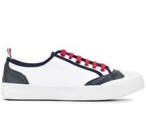 Sneakers mit Lederborten