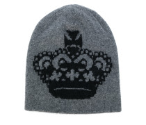 Crown beanie hat