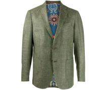 Einreihiges Tweed-Sakko