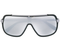 Oversized-Sonnenbrille - unisex - Acetat/metal