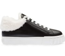 Sneakers mit Shearling-Futter