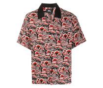 Hemd mit Korallen-Print