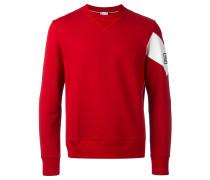 - Sweatshirt mit Chevron-Ärmeln - men - Baumwolle