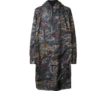 camouflage pullover raincoat