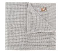 ribbed teddy pin scarf